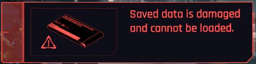 Las partidas guardadas de Cyberpunk 2077 pueden llegar a corromperse